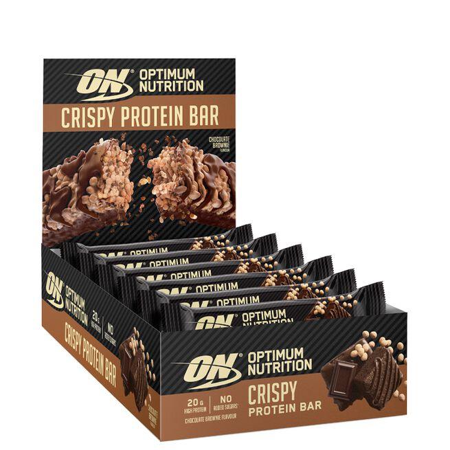 10 x Optimum Protein Crisp Bar, 65 g
