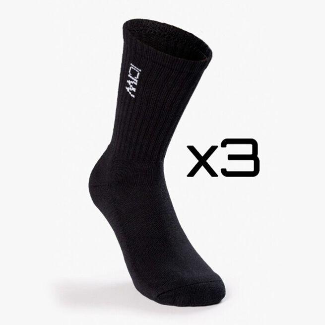 Training Unisex Socks 3-pack, Black