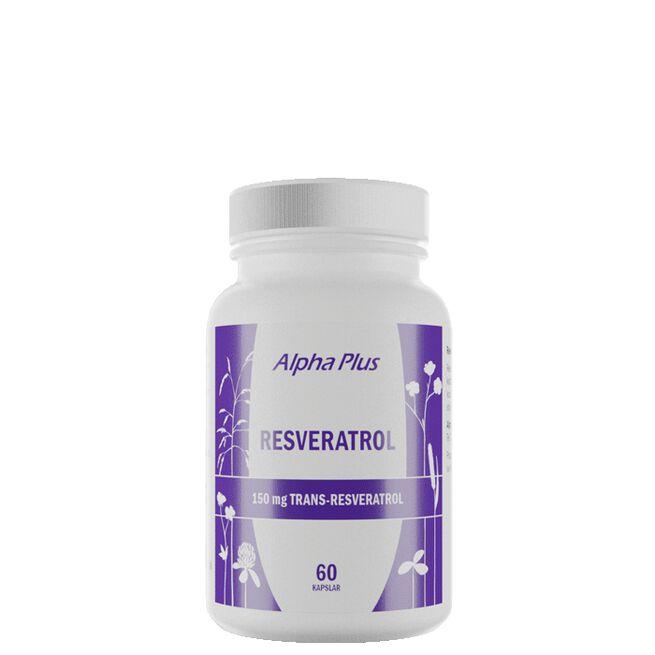 Resveratrol, 60 kapsler