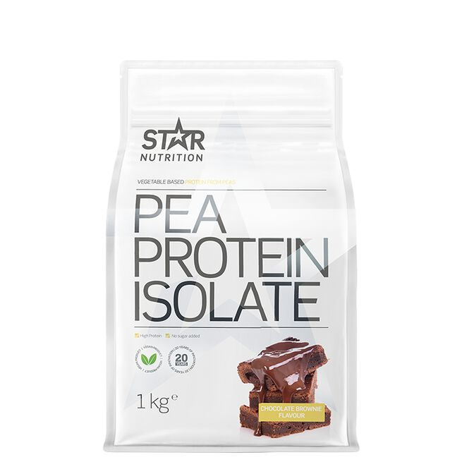 Pea Protein Isolate, 1 kg, Chocolate brownie