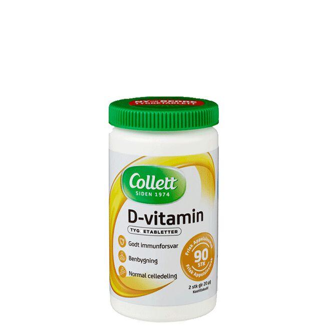 Collett D-vitamin, 90 stykk