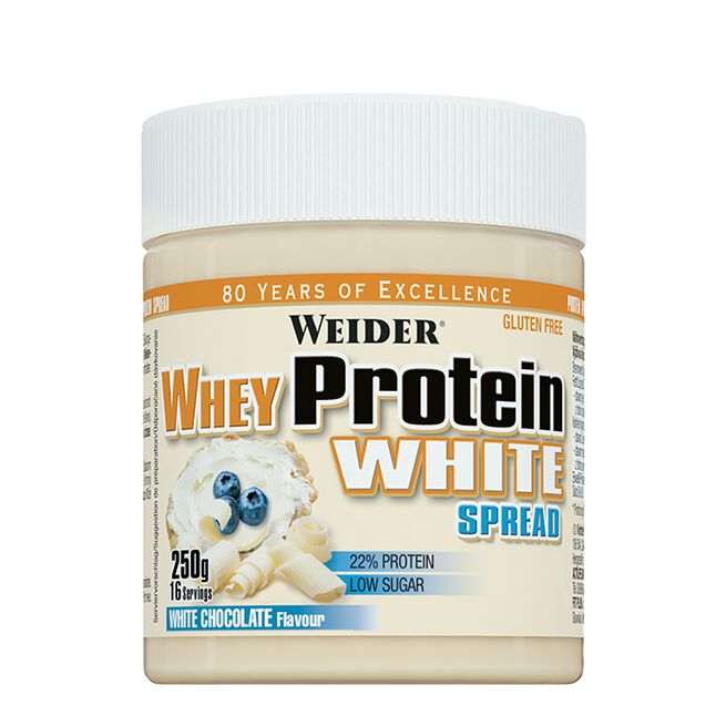 WHEY Protein White Spread, 250 g, White Chocolate
