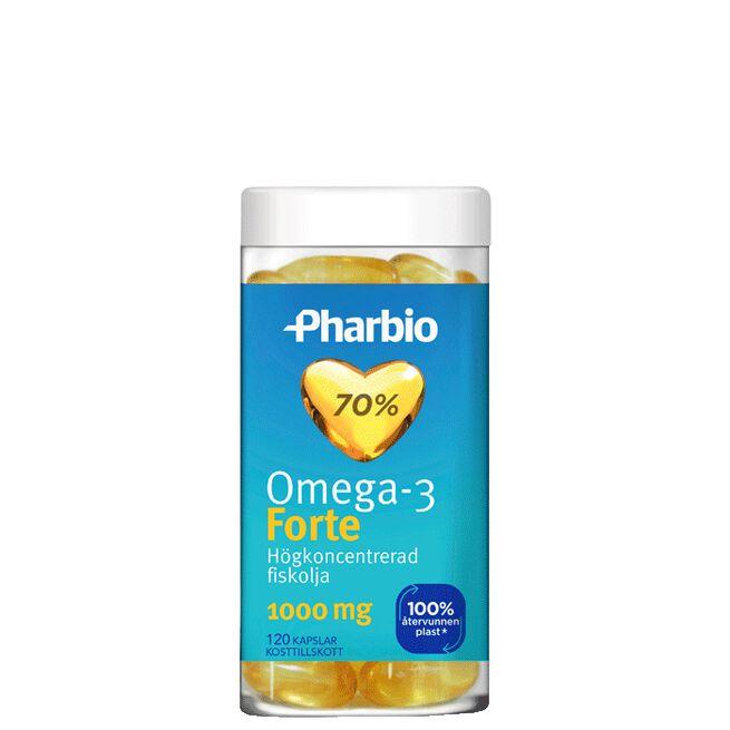 Omega-3 Forte, 120 kapslar