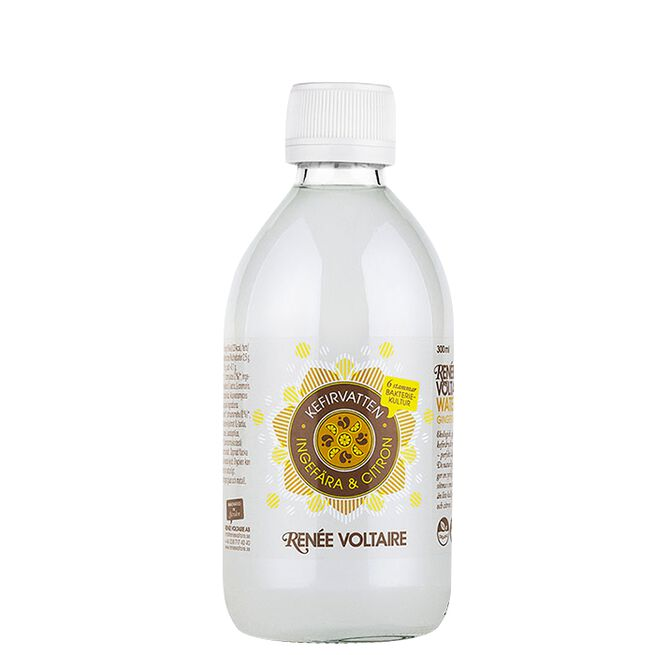 Vannkefir Ingefær & Sitron, 300 ml