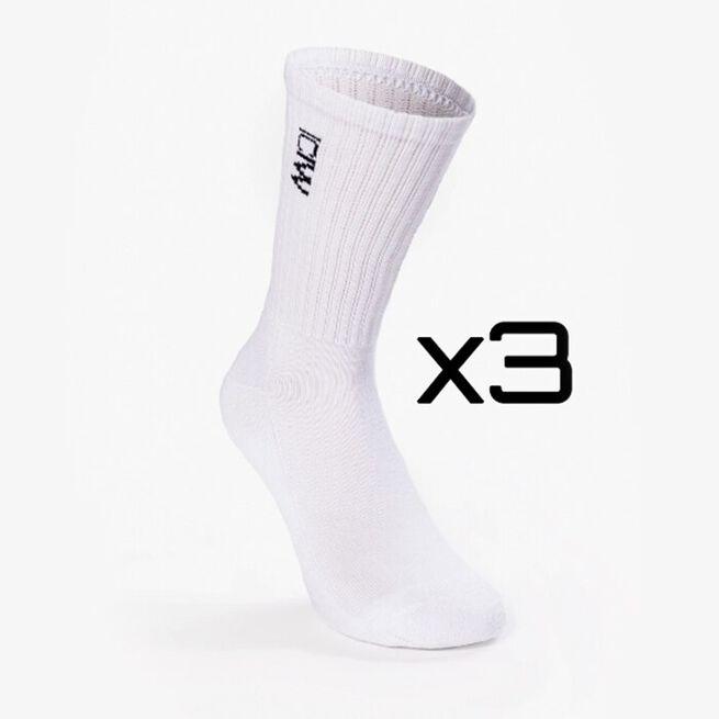 Training Unisex Socks 3-pack, White
