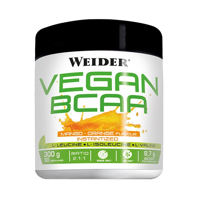 Vegan BCAA,300g, Mango-Orange