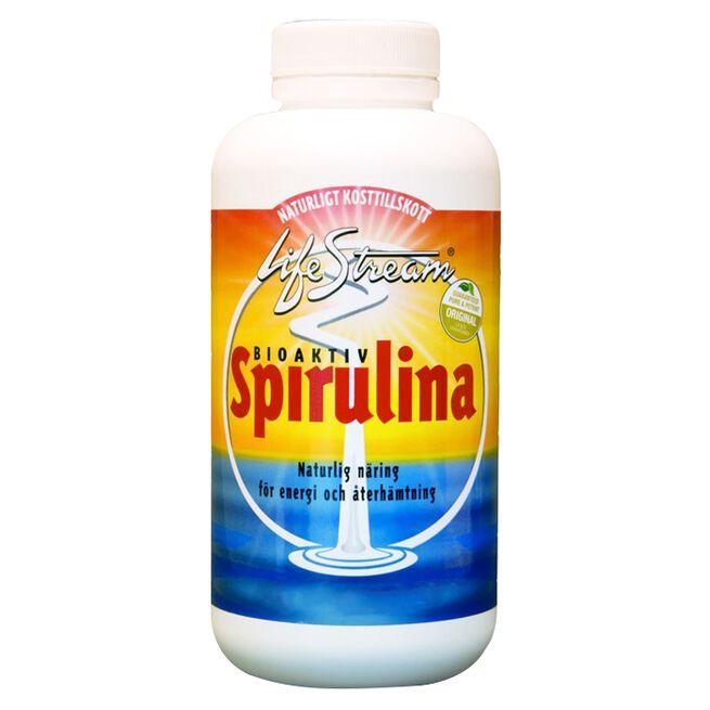 Spirulina, ferskvannsalge, 500 tabletter