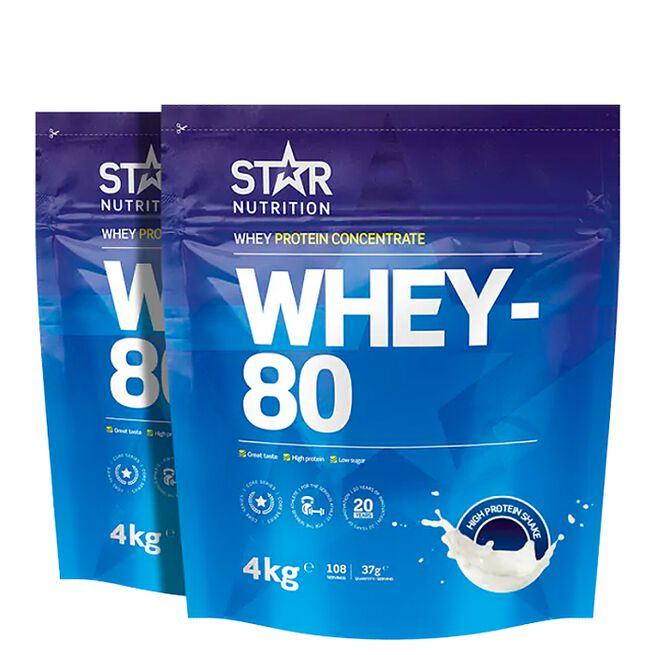 starr nutrition whey-80