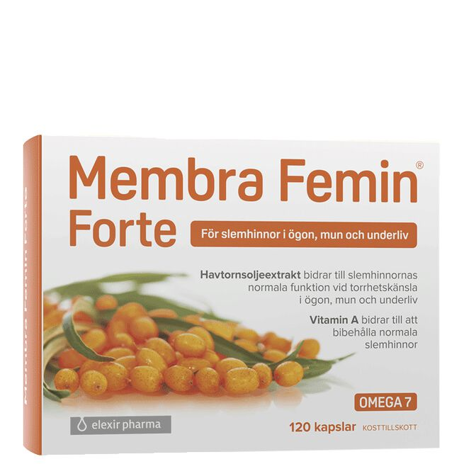Membra Femin Forte, 120 kapsler