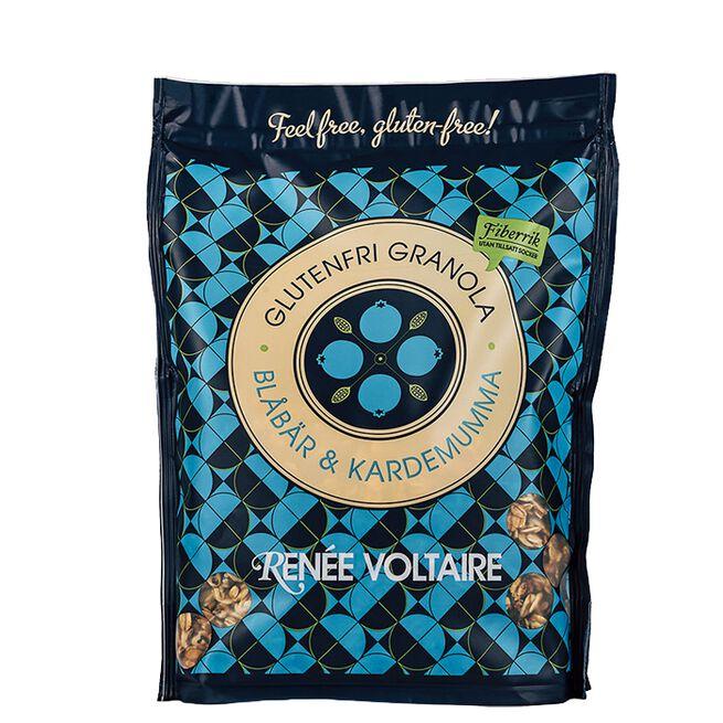 Granola Blåbær & Kardemomme, 375 g