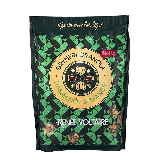 Grynfri Granola Hasselnøtt & Mandel, 350 g