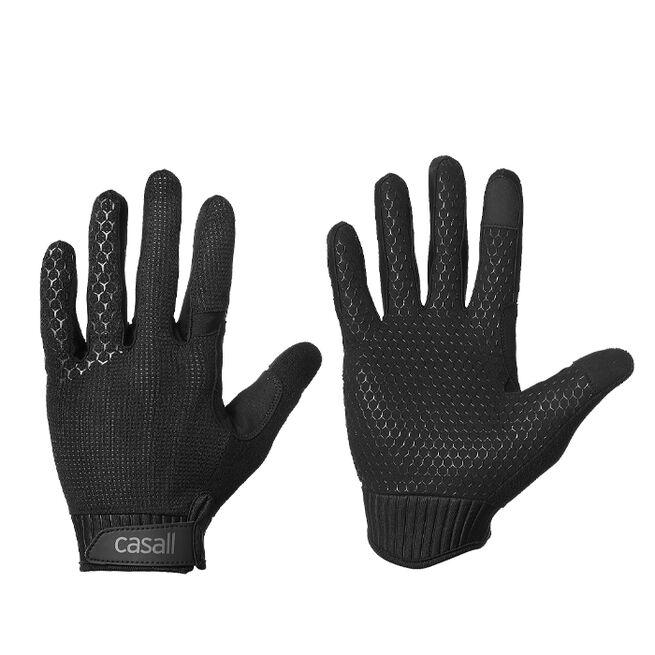 Casall Exercise Glove, Long fingers, Black