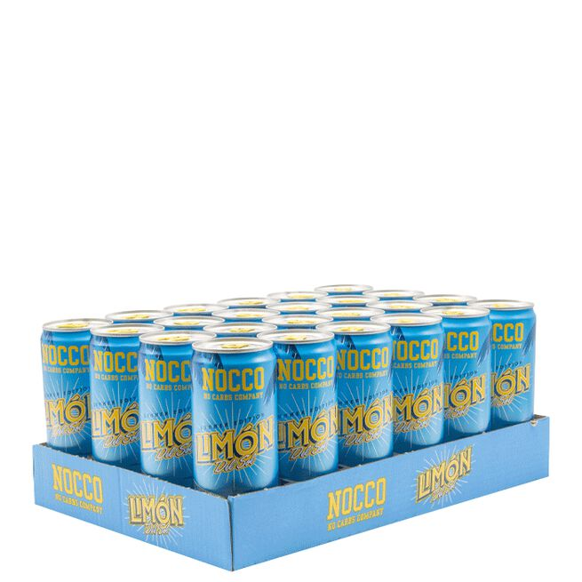 24 x NOCCO BCAA, 330 ml, Summer edition, Limon del Sol, Norge